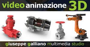 Animazione 3D e macchine industriali